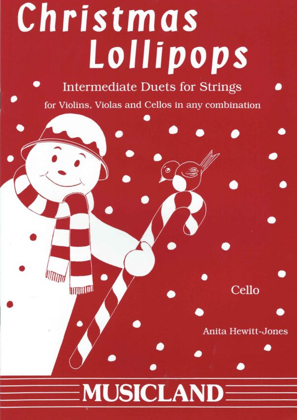 Christmas Lollipops for 2 Cellos